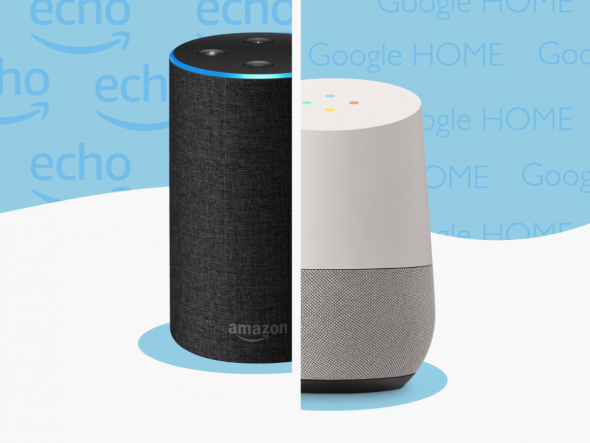 We tested the Amazon Echo and the Google Home to see which