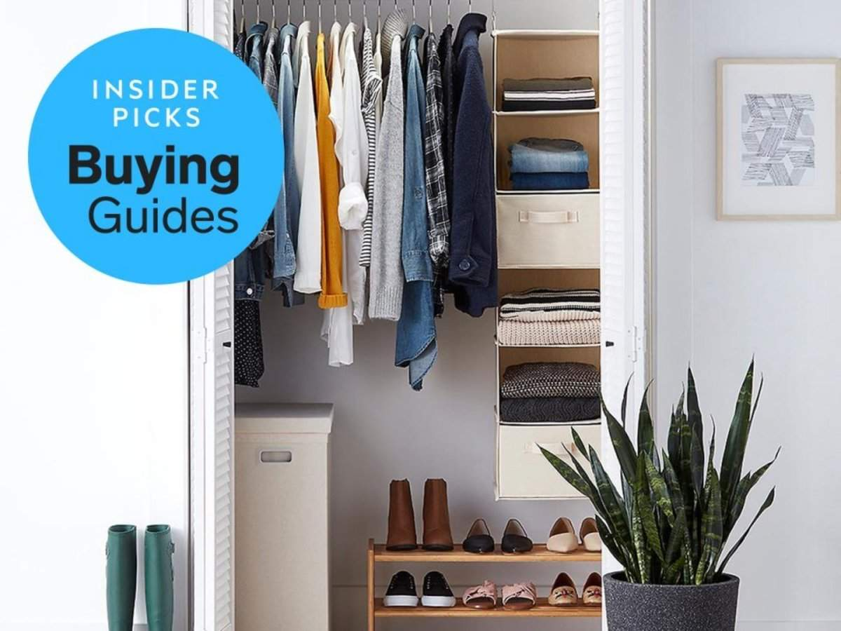 c432dd1336c The best hanging shelves for closets you can buy | Business Insider ...