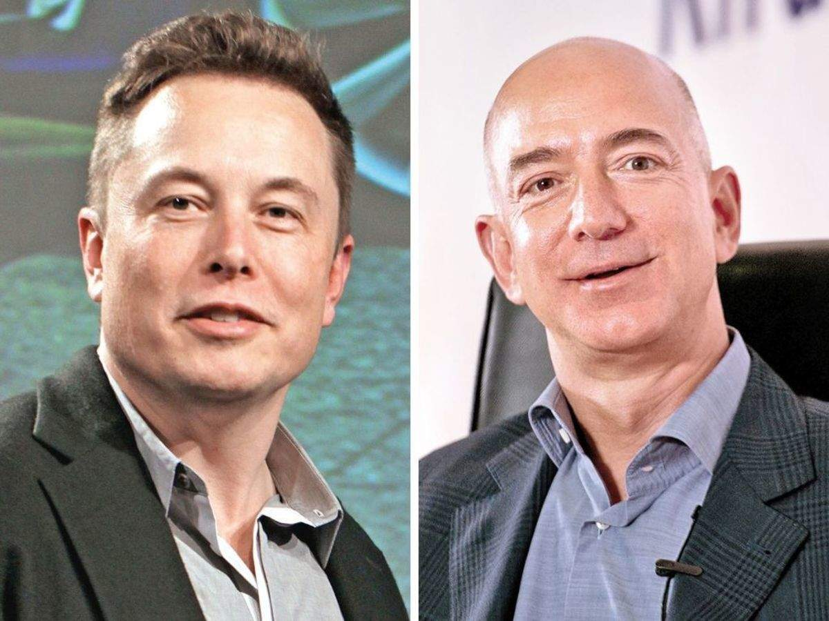 Elon Musk is going help NASA refuel in space and Bezos is going to help it land on the Moon