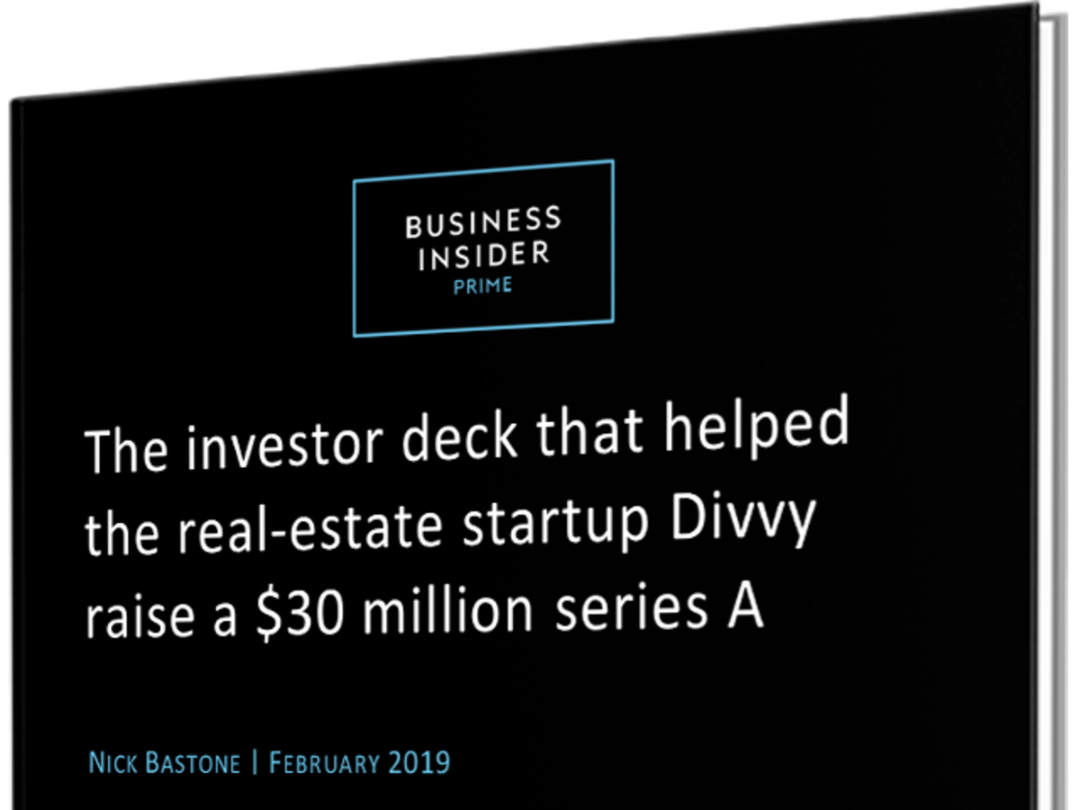 Read the pitch deck that helped Divvy raise $30 million to provide alternate financing for prospective homebu