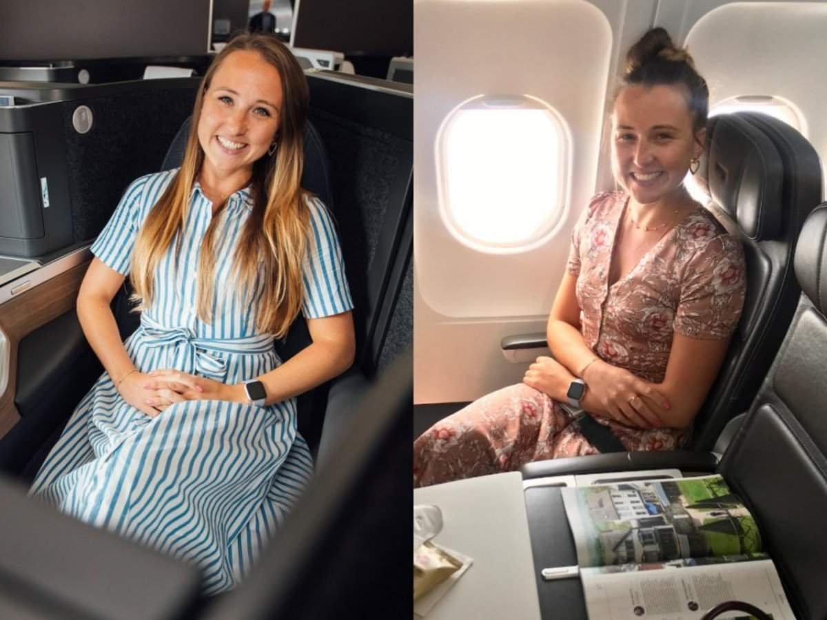 I flew in British Airway's brand new long-haul business class suites followed by the short-haul equivalent th