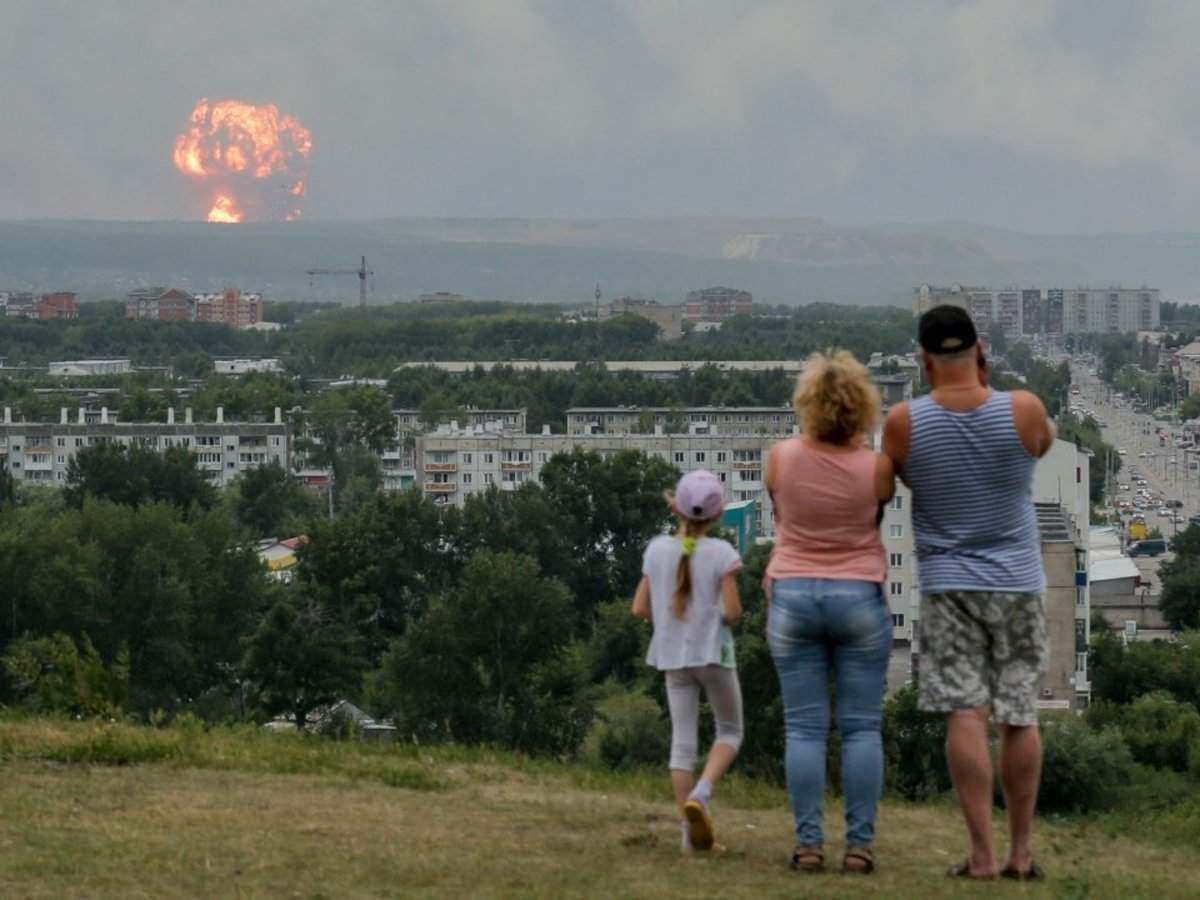 It looks like the Russians are trying to hide the truth about that nuclear accident in Nyonoksa