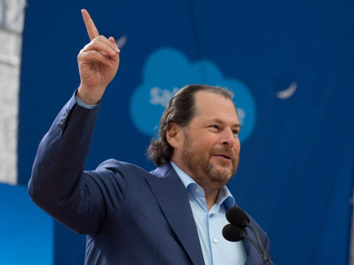 Wall Street wasn't expecting much from Salesforce earnings, but its results and its $15.7 billion Tableau acq