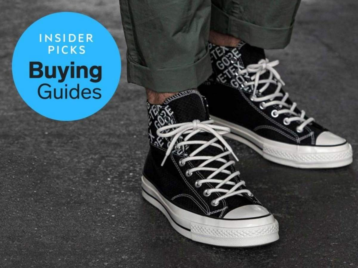 The best water-resistant sneakers for men you can buy