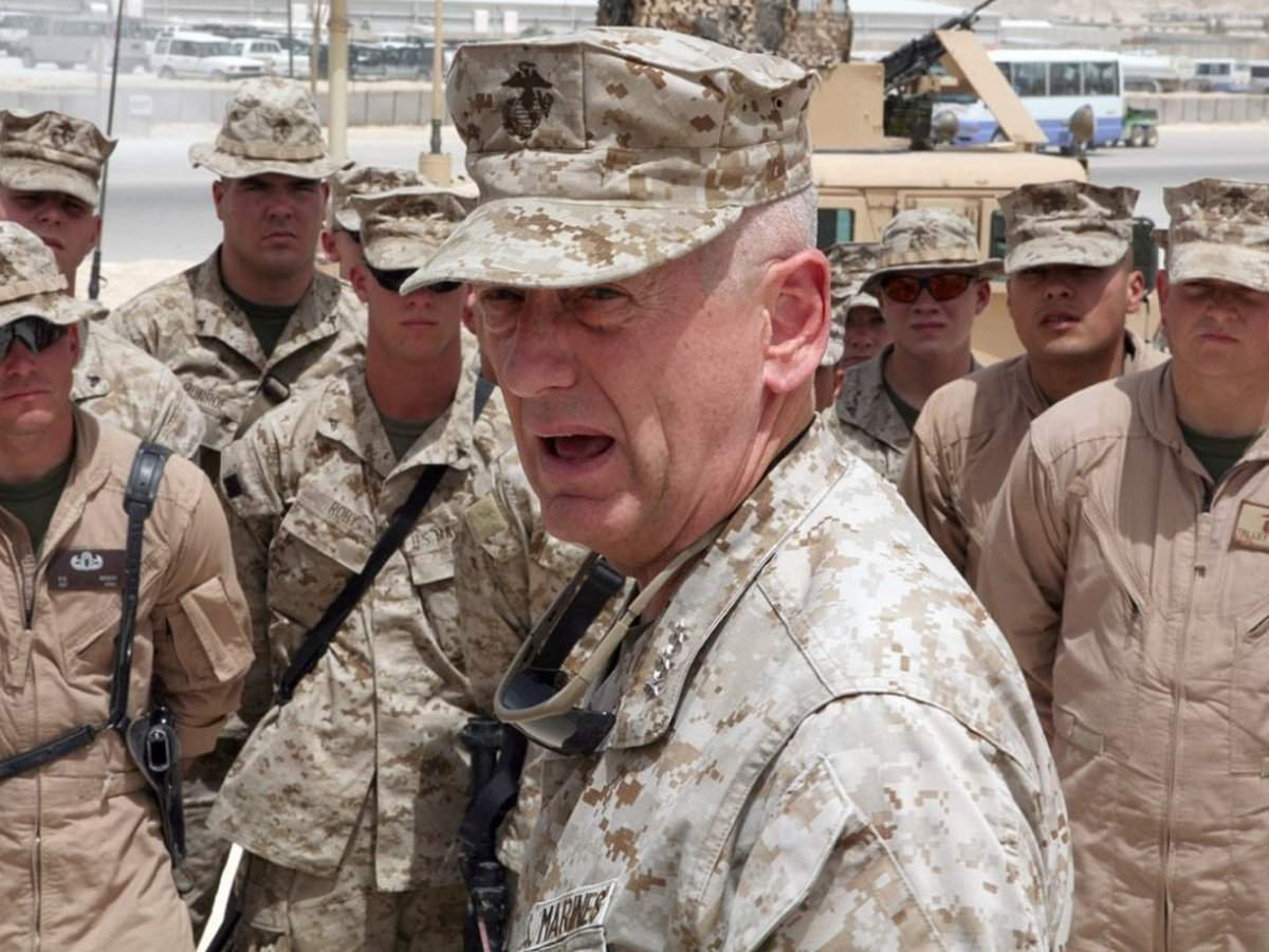 Trump reportedly called Jim Mattis the 'world's most overrated general' in a chaotic meeting on Syria