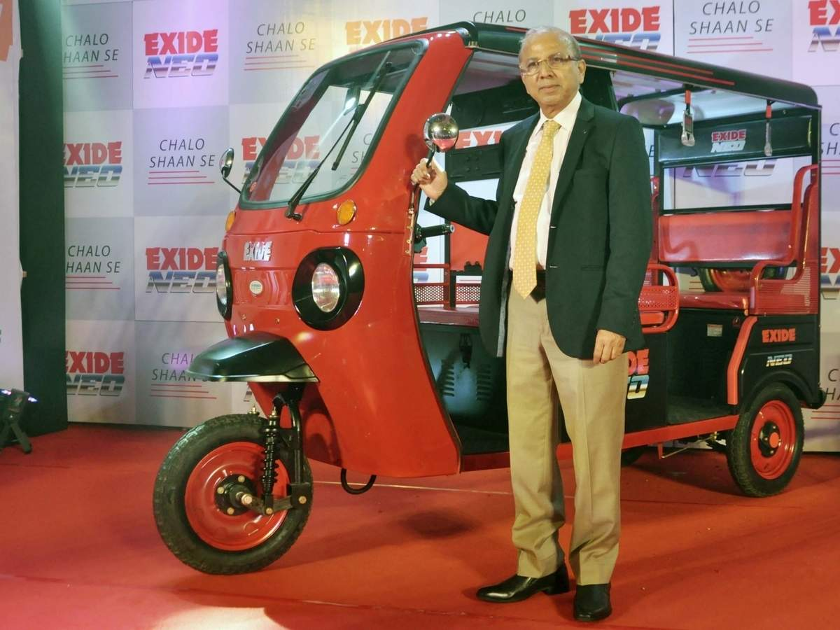 Battery maker Exide to now manufacture e-rickshaws