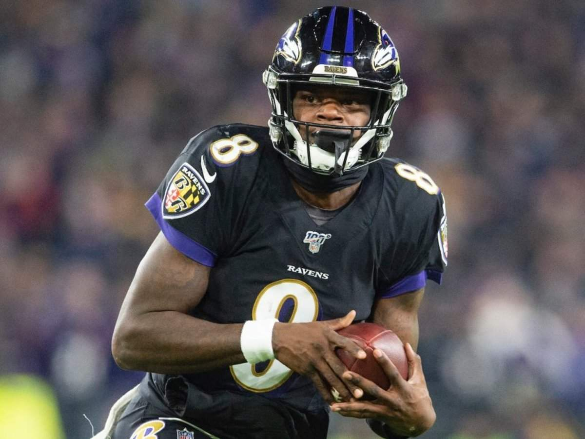 Lamar Jackson needed extra jerseys to swap after his latest MVP performance because Jets players were lining