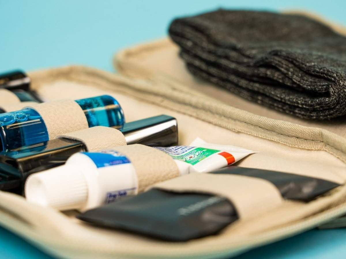 Take a look at the luxurious amenity kits you get when you fly with US airlines in first class, business, pre