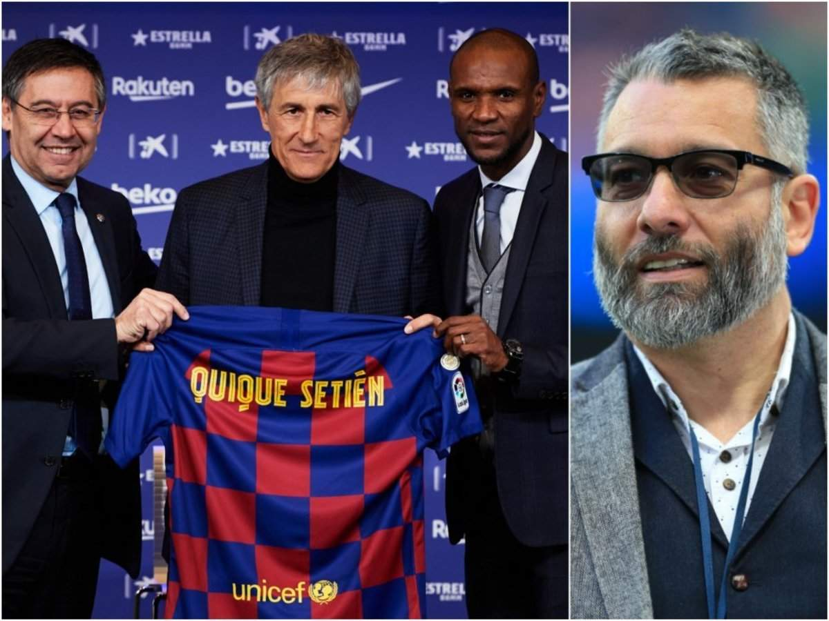 FC Barcelona's new manager is a 'gamble' who may not last 6 months, according to the country's most prominent