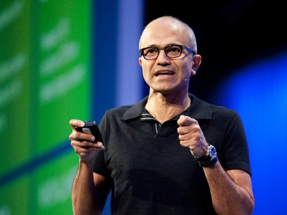 Microsoft CEO Satya Nadella says too many people use their phones to consume, not create - and thinks its Tea