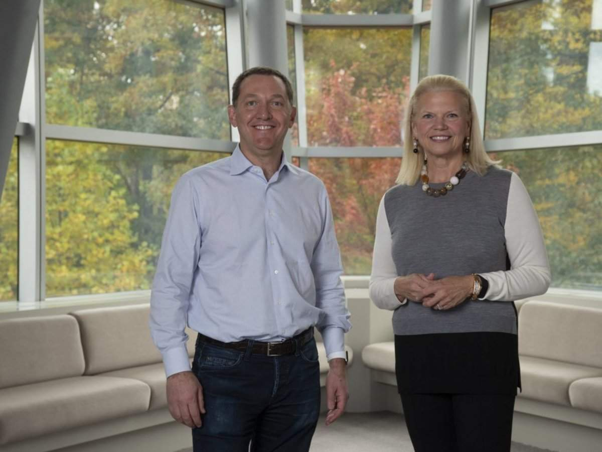 Six months after IBM spent $34 billion to acquire an open source software company, IBM's Q4 results showed th