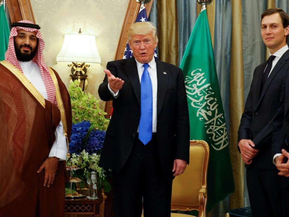 Jared Kushner reportedly used WhatsApp to chat with Mohammed bin Salman, who allegedly used the same app to h
