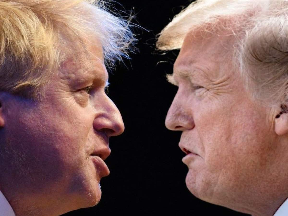 Trump is heading for a major clash with Boris Johnson over Huawei as Republican allies warn 5G deal would rup
