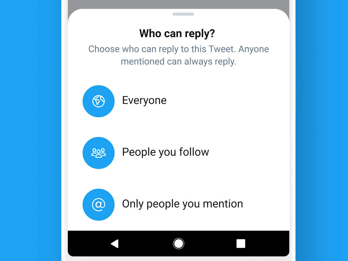 Twitter's new feature lets users limit replies — but this may allow fake news to go unchecked