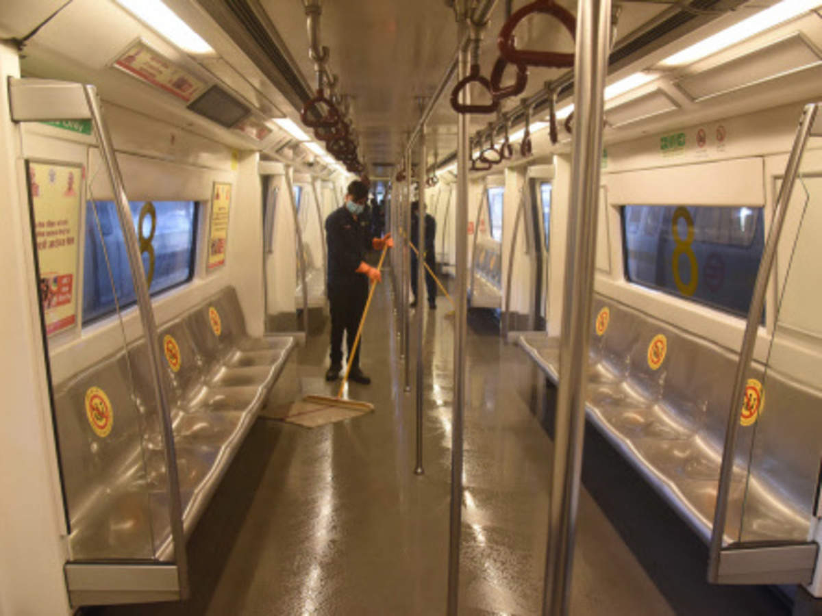 Delhi Metro resumes services in a phased manner