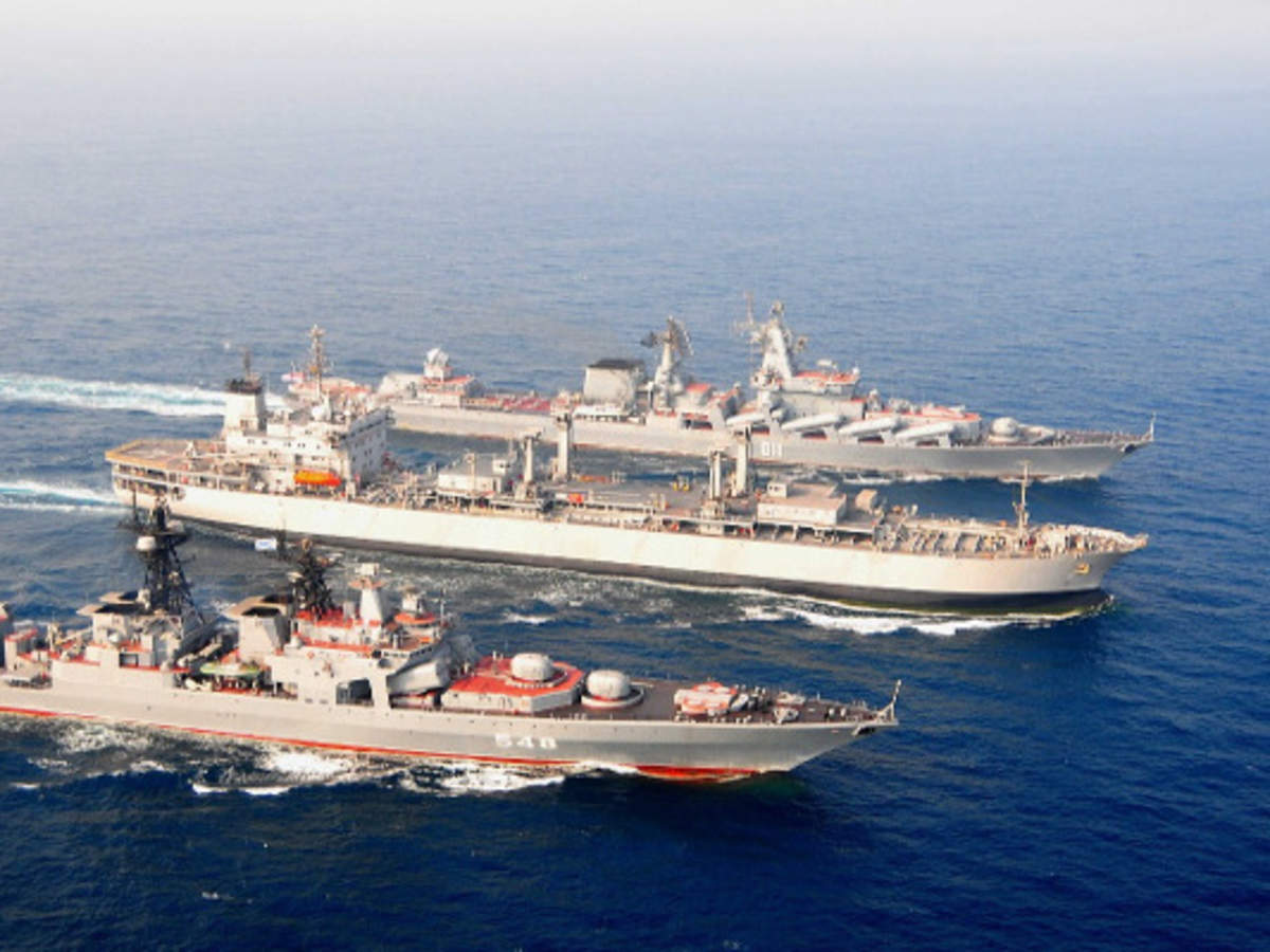 Indian Navy takes to seas with Russia and QUAD countries