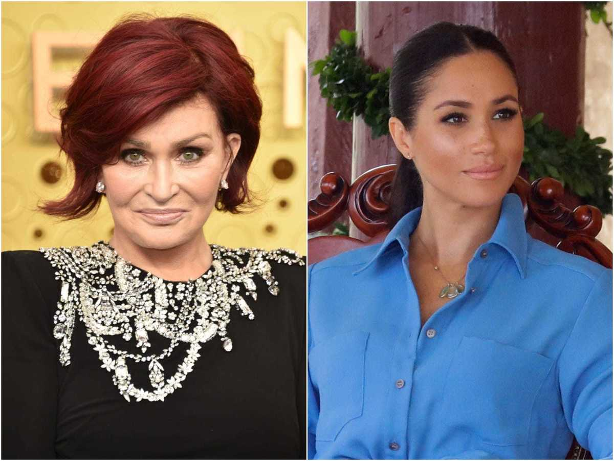 Sharon Osbourne refused to acknowledge that Meghan Markle is Black in a  resurfaced clip from 'The Talk' | Business Insider India