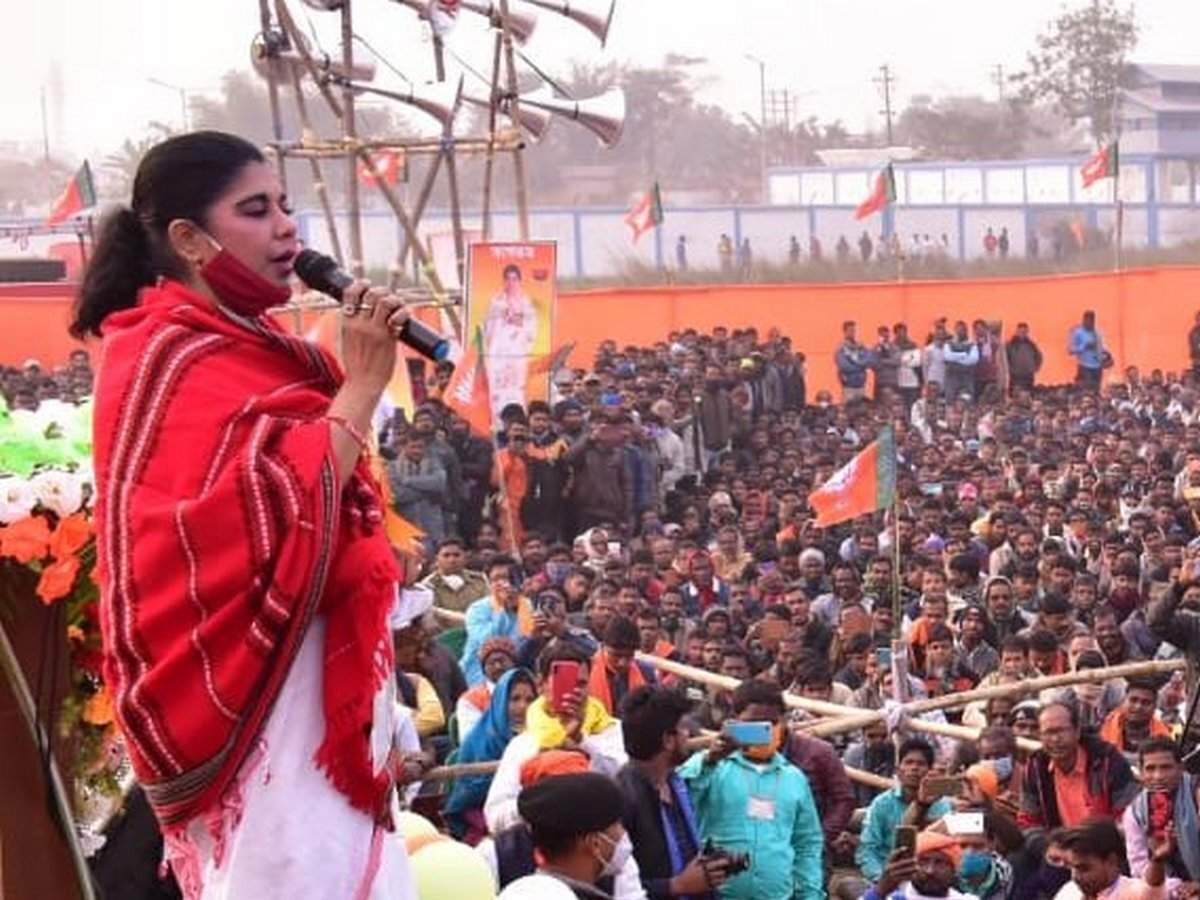 Bharati Ghosh, BJP's West Bengal contestant from Debra, has a robust bank balance along with a rather long rap sheet