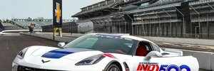This Corvette will be the pace car at the Indy 500 - and we drove it