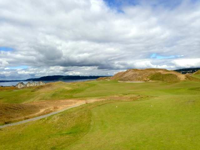 What It's Like Playing Chambers Bay Golf Course, Where The