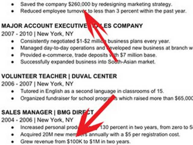 tailor your resume to the specific position you u0026 39 re