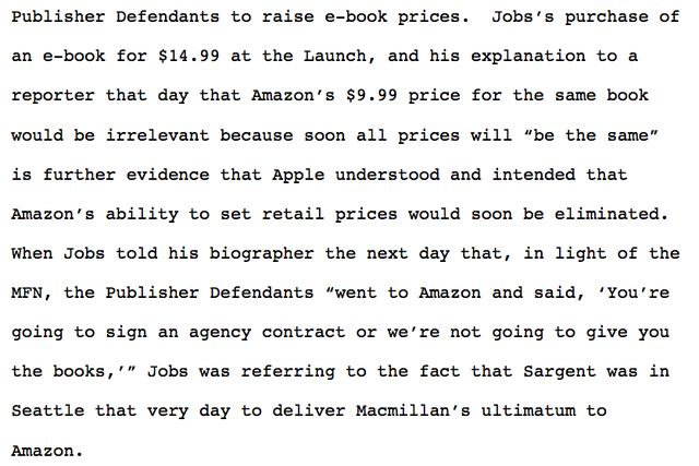 How steve jobs rupert murdoch and stephen king worked to fix the judge really hangs the whole thing around jobs neck the case against apple would have been much weaker if jobs had not said anything about ebook fandeluxe PDF