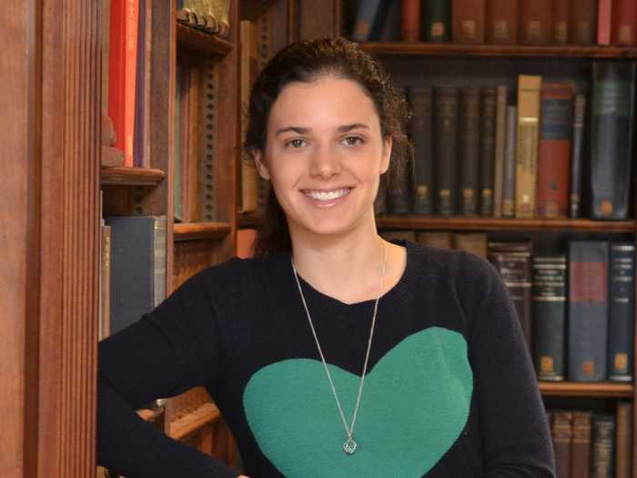Jenny Bright is a Rhodes Scholar who was editor-in-chief of the Yale undergraduate Law Review.