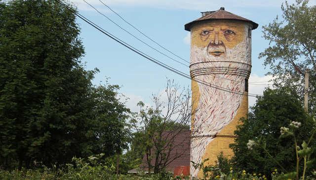 Living Walls' Street Art Puts Odd Faces On Russian Cityscape