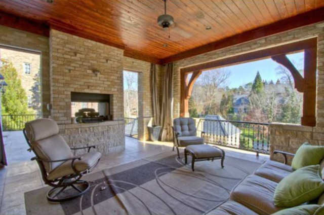 There S An Outdoor Fireplace Business Insider India