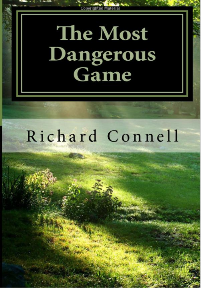 the human and animal act of rainsford in the most dangerous game by richard connell