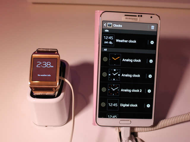 All The Cool Things The Samsung Galaxy Gear Smart Watch Can Do