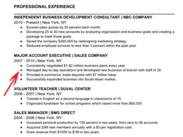 Resume When You Dont Have A Lot Of Experience
