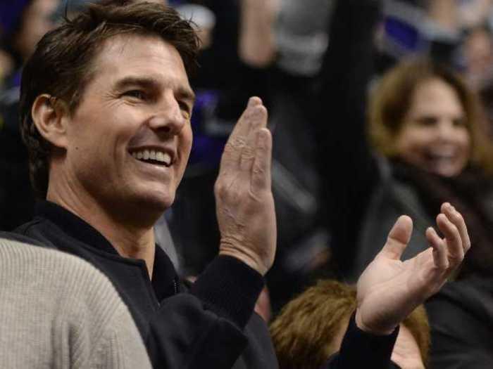 Tom Cruise sleeps in a sound-proof 'snoratorium.'