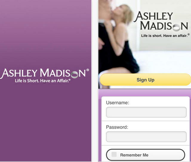 Remember ashley madison, the dating site for extramarital affairs that was recently hacked