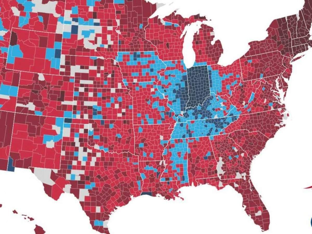 Maps Which Nfl Teams Every County In The Us Is Rooting For In