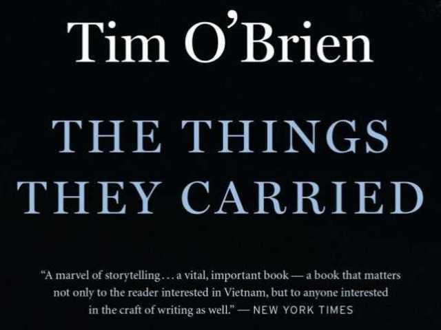 a story of the soldiers and their experiences and emotions in the things they carried by tim obrien The things they carried takes up the question of how to address the  in my  junior year of high school tim o'brien's novel the things they carried  elucidated their  the depth of emotion and experience warps the ability to even   the soldiers' experiences and stories operate outside of themselves.