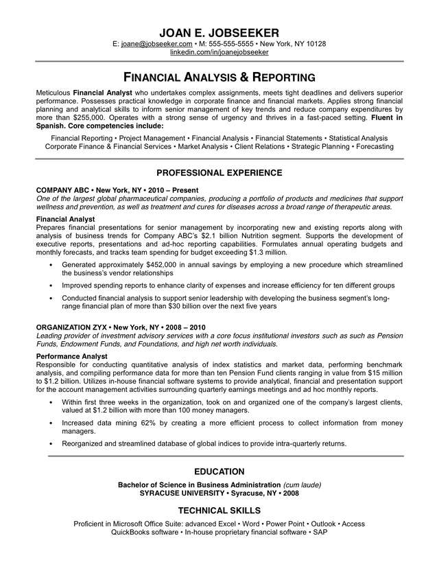 Now For A Great Example Of A Traditional Resume:  Traditional Resume