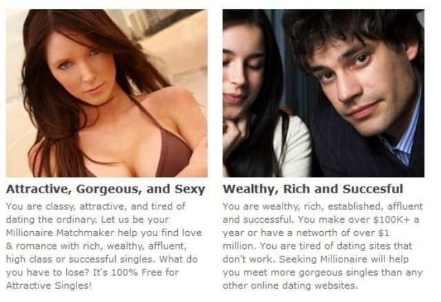 100 free millionaire dating site