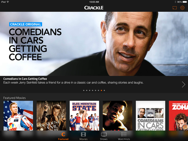 all crackle tv shows