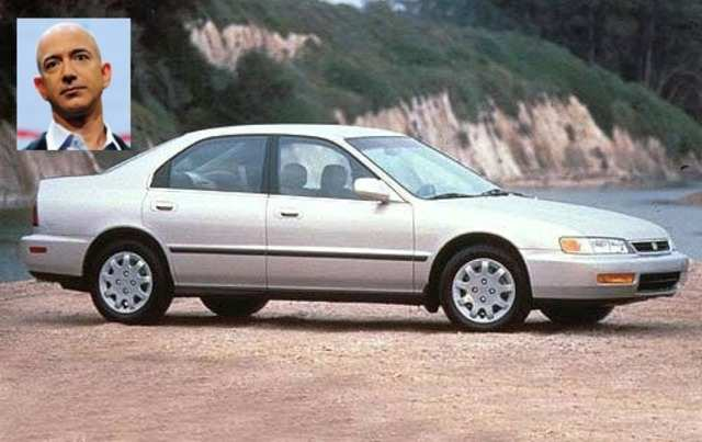 photo of Jeff Bezos Honda Accord - car