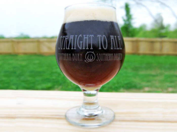ALABAMA: Straight to Ale hails from Huntsville. The brewery's Laika Russian Imperial Stout clocks in at 11.7% ABV and features notes of coffee and chocolate.