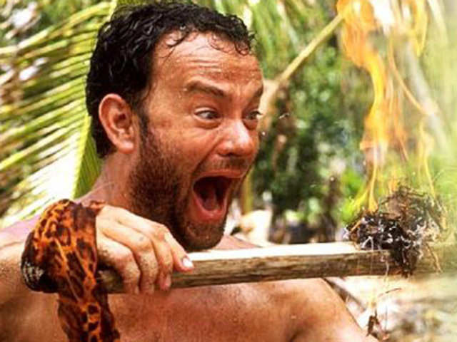 Tom hanks went from 225 pounds to 170 for quot castaway quot