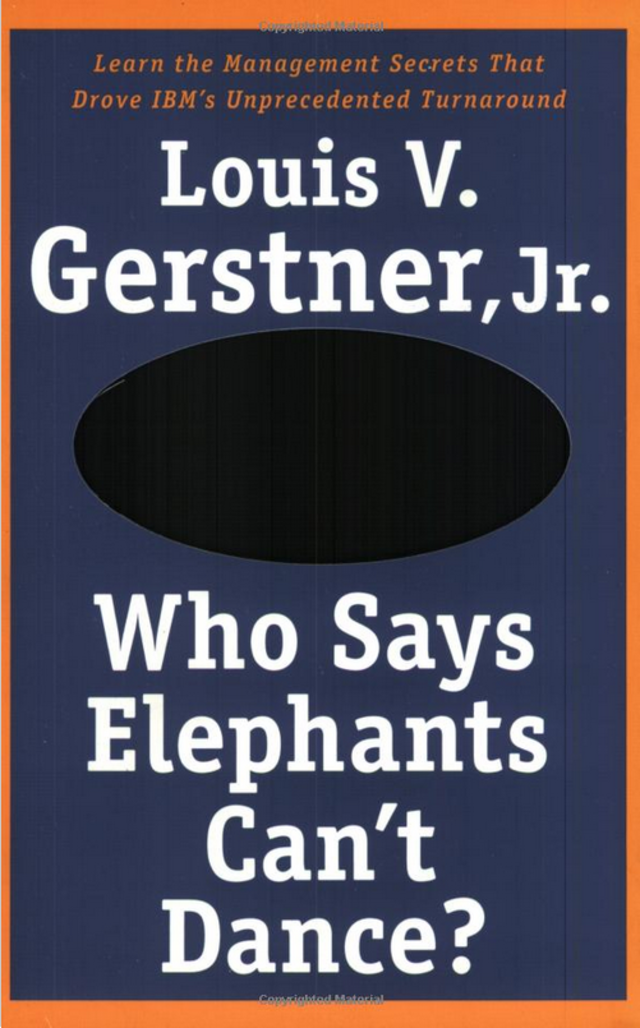 """who says elephants can t dance book Rate this book clear rating  it's a question of whether a particular elephant can dance if it can, the ants must leave the dance floor"""" ― louis v gerstner jr, who says elephants can't dance 1 likes  , who says elephants can't dance 0 likes like."""