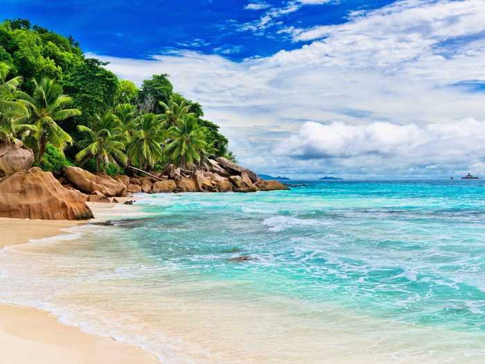 A popular destination for honeymooners or paradise-seekers, the islands of the Seychelles — located in the Indian Ocean off the coast of Madagascar — are vanishing because of beach erosion. They're in danger of completely disappearing in the next 50 to 100 years.