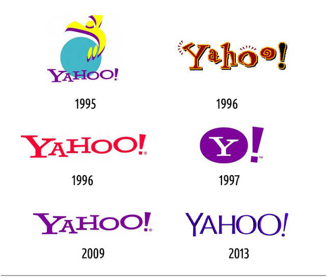 These Tech Company Logos Have Changed Drastically Since They - How the logos of 15 famous tech companies have changed over the years