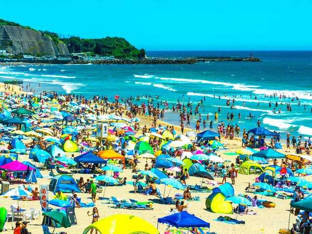 Onjuku Beach Chiba City Japan
