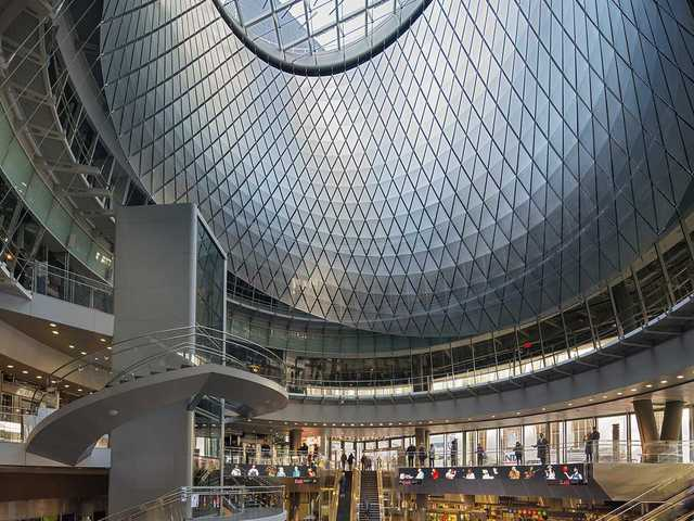 Fulton Center by Grimshaw Architects (New York, NY