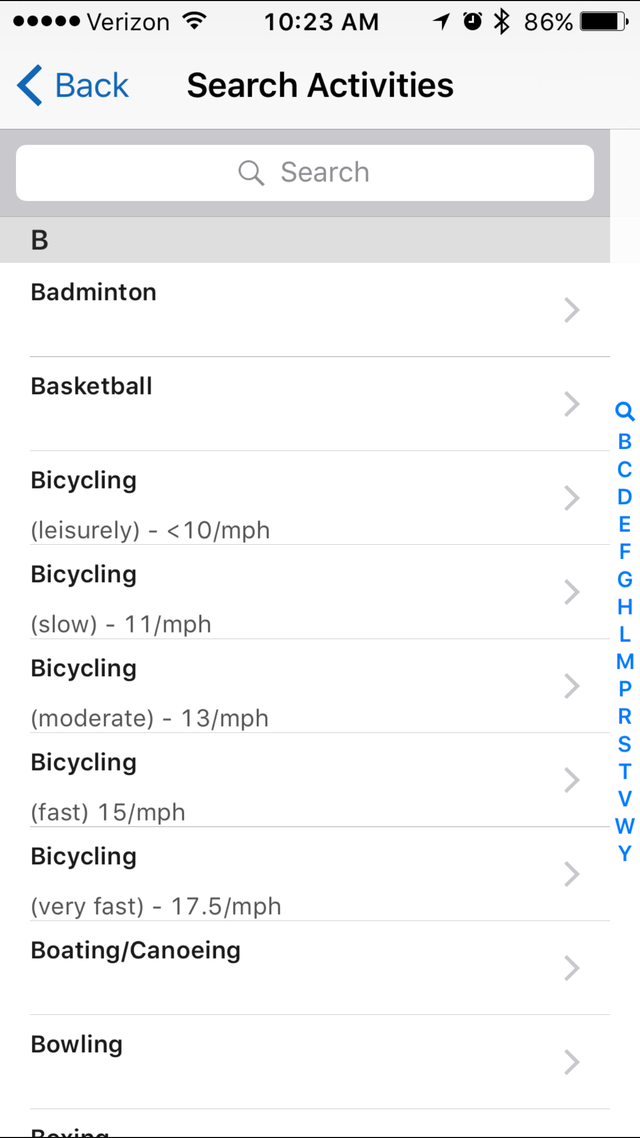 I Track Bites >> Just Like The Weight Watchers App You Can Track Activity In