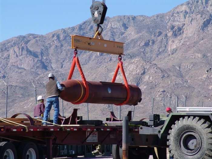 Massive Ordnance Penetrator bombs