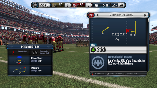 A hardcore gamer who knows nothing about football plays
